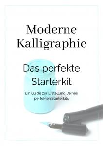 Starterkit Moderne Kalligraphie