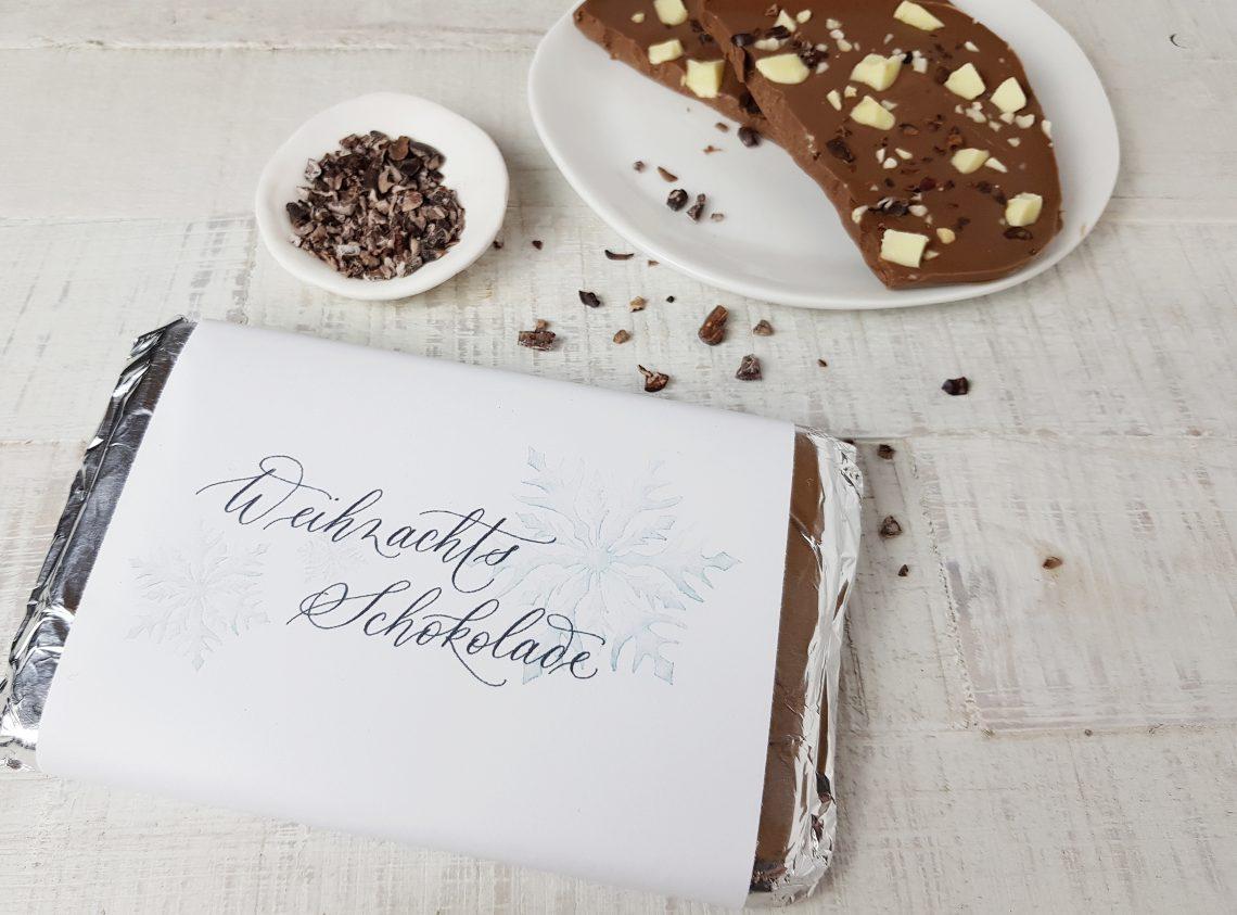 Last-Minute Weihnachtsgeschenk: Weihnachtsschokolade