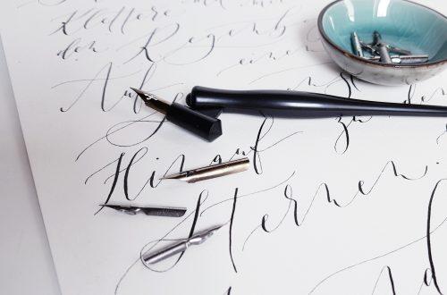 Deine Kalligraphie verbessern