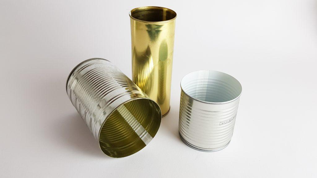 DIY Idee Upcycling aus leeren Konservendosen
