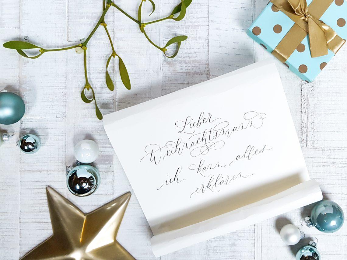Wunschzettel Ideen für Kalligraphie-Lover