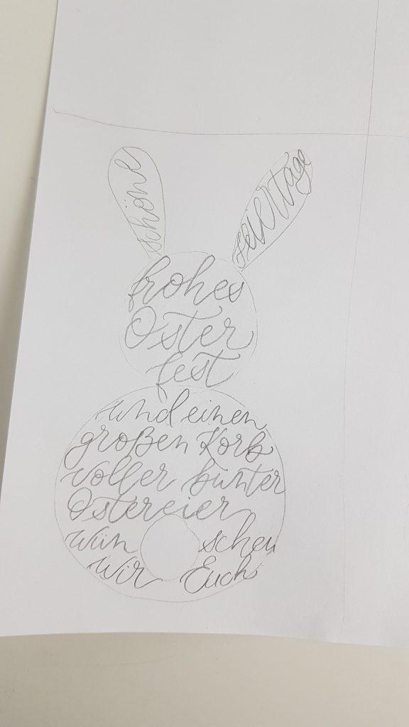 Skizze Ostergrüße