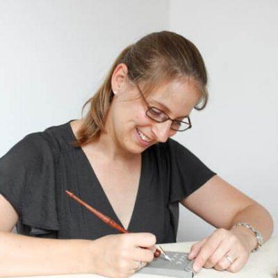Kalligraphie schreiben